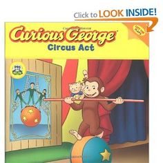 Curious George Circus Act (CGTV Lift-the-flap 8x8): H. A. Rey: 9780618999095: Amazon.com: Books