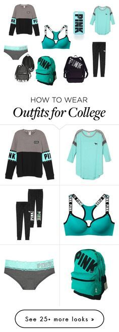 """PINK"" by kenn-822 on Polyvore featuring Victoria's Secret"