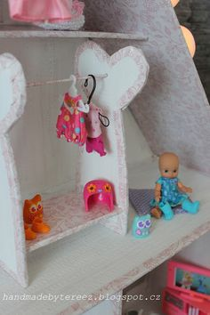 Dollhouse ... pink ... Mini chou chou ... DIY