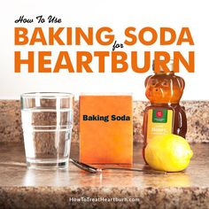 home remedies for heartburn during pregnancy - hormones and gerd - acid baking reflux soda - diet to control acid reflux - pregnancy heartburn symptoms Treatment For Heartburn, Natural Remedies For Heartburn, Baking Soda And Honey, Baking Soda Scrub, Heartburn Symptoms, Heartburn Relief, Reflux Symptoms, Health