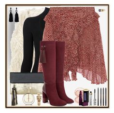 """""""Foggy Background"""" by winscotthk ❤ liked on Polyvore featuring Hollister Co., Cushnie Et Ochs, Isabel Marant, BeckSöndergaard, By Terry, Aquatalia by Marvin K., Borghese, Lipstick Queen and Oscar de la Renta"""