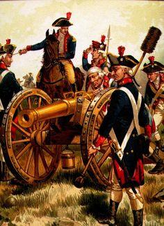 Continental Artillery, 1777 American Revolutionary War, American Civil War, American History, British History, Native American, Independence War, American Independence, Military Art, Military History