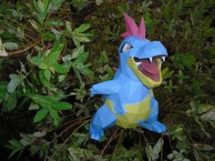 Croconaw papercraft by TimBauer92