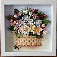 #quilling #quillingart #paperquilling #quillingflowers #квиллинг #квиллингцветы