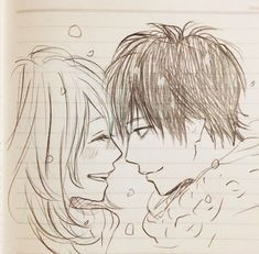 Naho and Kakeru Sketch Orange