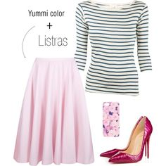"""Yummi color"" by gessilene-ferreira on Polyvore"