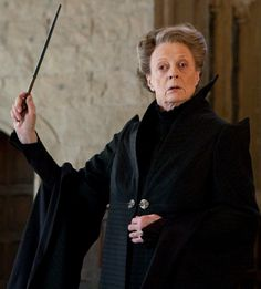 Madam Professor Minerva McGonagall (b. 4 October,1935) was a witch and a registered Animagus who attended Hogwarts School of Witchcraft and Wizardry from 1947 to 1954 and was sorted into Gryffindor House. After her education, she worked for two years at the Ministry of Magic and later returned to Hogwarts, where she became Head of Gryffindor House, Transfiguration professor and concurrently, at differing times, Deputy Headmistress and Headmistress of Hogwarts. McGonagall was also a member…