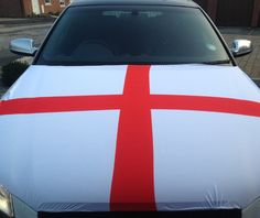 Our England Car Bonnet Flag is the perfect addition to your car so that you can fly your colours! So if your feeling patriotic, buy your flag and hold it high!