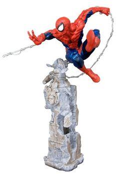 Amazon.com: Kotobukiya The Amazing Spider-Man: Spider-Man Unleashed Fine Art Statue: Toys & Games