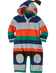 Cozy Hoodie Sweater Romper from Hanna Andersson Little Mr.