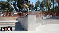 Olivier Lucero Pamona Skatepark Check – RIDE Channel: Source: RIDE Channel