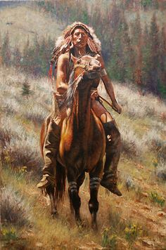 Crow Chief by artist Don Oelze Native American Warrior, Native American Artwork, Native American Artifacts, American Indian Art, Native American Indians, Native Indian, Native Art, Tribal Images, Rendering Art