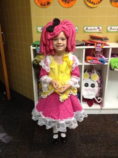 bellas halloween costume she is dressed as crumbs sugar cookie notice the sweet little