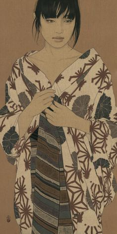 Art by Ikenaga Yasunari Japanese Art Modern, Japanese Prints, Art Indien, Art Occidental, Art Asiatique, Art Japonais, Japanese Painting, Japan Art, Japan Japan