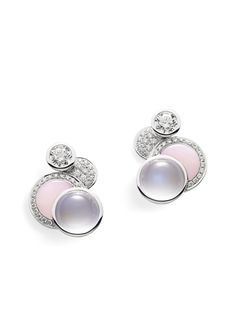 Boodles 'Raindrop' earrings from The Poetry of Landscape Collection.