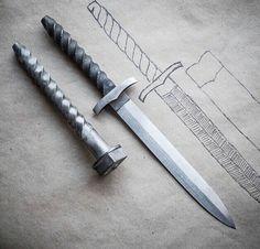 Homemade nail knife