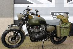 BONNEVILLE T100 SMQ | BMC Custom Motorcycles