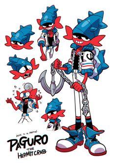 "🍠🍁Nelnal🍁🍠 on Twitter: ""Paguro #NELNAL… "" Game Character Design, Fantasy Character Design, Character Design References, Character Creation, Character Design Inspiration, Character Concept, Character Art, Cartoon Design, Cartoon Art Styles"