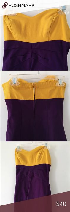 TEEZE Bodycon dress. Size 3. Only worn once. Stretchy material. Size 3- fits size 2 or 4. Teeze Me Dresses Strapless
