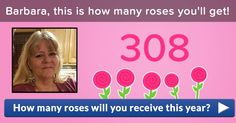 How many roses will you receive this year?