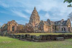 Panomrung historical park - Panomrung sanctuary the famous Khmer art sanctuary in Thailand