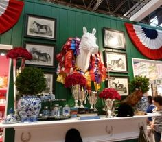 Habitually Chic®: NYIGF: Two's Company Equestrian Theme