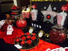 Hollywood Candy Buffet #redcarpet