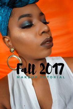 Deep Teal Halo Smokey Eye New Makeup Tutorial youtu.be/Qzy59i8nh7Q #makeupbyme #beautyblogger #makeuptutorial #subscribe #makeupforblackwomen #woc #mondaymelanin