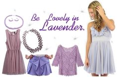 """""""Be Lovely in Lavender."""" by kaleeg ❤ liked on Polyvore"""