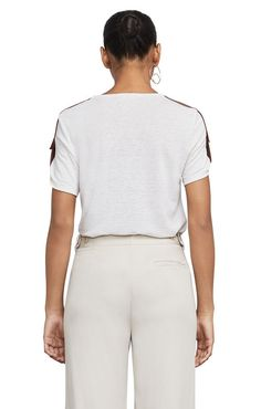 Cassia Short-Sleeve Top