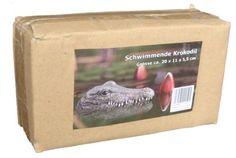 Testa di Coccodrillo Galleggiante in resina decorazione per piscina: Amazon.it…