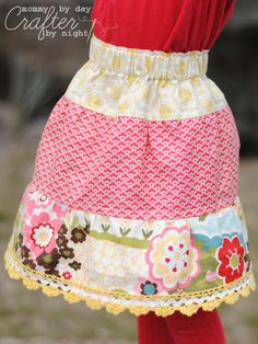 Little Miss Priss Skirt Tutorial from Mommy by day Crafter by night