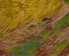 Wheatfield with Crows Auvers-sur-Oise, July 1890 Vincent van Gogh (1853 - 1890)  oil on canvas, 50.5 cm x 103 cm Van Gogh Museum, Amsterdam (Vincent van Gogh Foundation)  This monumental landscape was long considered the last work Van Gogh painted. The menacing, stormy sky, the crows and a path apparently leading nowhere have all been read as hints of his suicide.