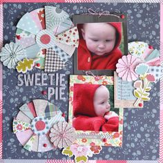 Scrapbook layout made with #frontporch by #pebblesinc
