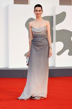 Red Carpet Dresses, Film Festival, Venice, One Shoulder, Silhouette, Formal Dresses, Fashion, Dresses For Formal, Moda