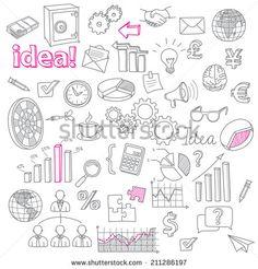 Garabatos Negocios Fotos, imágenes y retratos en stock | Shutterstock