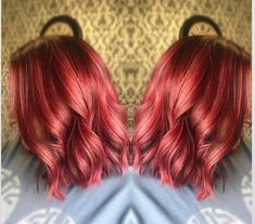 Natural red hair is breathtaking. It is a color that can't be replicated and makes short hair look stunning and unique. Although some of us aren't bor... Red Hairstyles, Pretty Hairstyles, Shaved Pixie, Grown Out Pixie, Red Pixie, Short Red Hair, Natural Red Hair, Fire Hair, Red Highlights