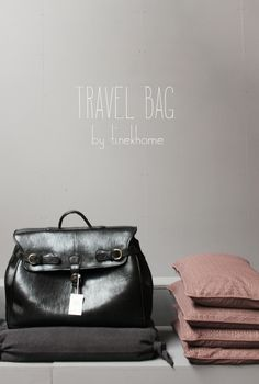 Travel bag by Tine K Home