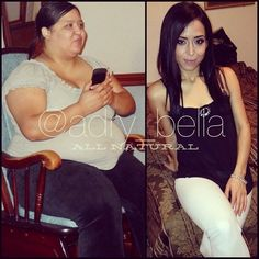 Adry Bella aka Adry_bella, is a instagram weight loss sensation. Adry documented her incredible transformation to all her followers as she lost over 150lbs in 20 months and totally changed her physique. Adry has over 360,000 followers on her instagram page, where she updates her fans with motivational pictures, progress photos and other shots of her everyday life.