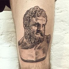 Heracles for Louis #tattoo #heracles #hercules #greekmythology #greekpantheon #dotwork #blackworkerssubmission…