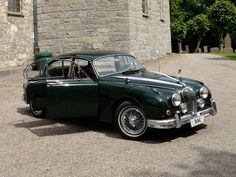 Jaguar MK 2 (1960) bryllupsbil stilles til disposisjon for bryllup og diverse.