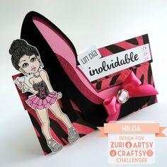 Hilda Designs: En ZAC Reto #22: Despedida de Soltera, el sentimiento es de Latina Crafter del set Simplemente,