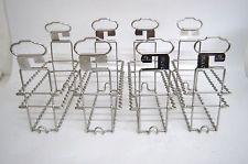 "KINDERMANN 4x Developing /Drying Cut film Hangers Size 8, 5x10cm/3.1/4 x 4"" -M13"