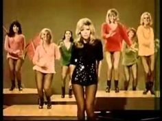 These Boots are made for walking- Nancy Sinatra   I so want her dress!
