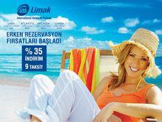Antalya'nın en güzel sahilleri, Limak Otelleri erken rezervasyon fırsatları ile seni bekliyor!
