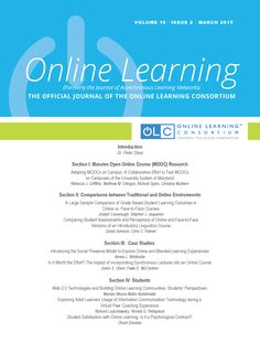Latest Issue - OLC Vol. 19 issue 2 march 2015