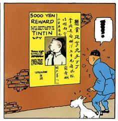 Tintin The Blue Lotus • Tintin, Herge j'aime