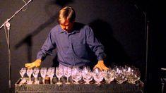 The Blue Danube Waltz on glass harp