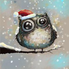 happy owl by bemain.deviantart.com on @DeviantArt