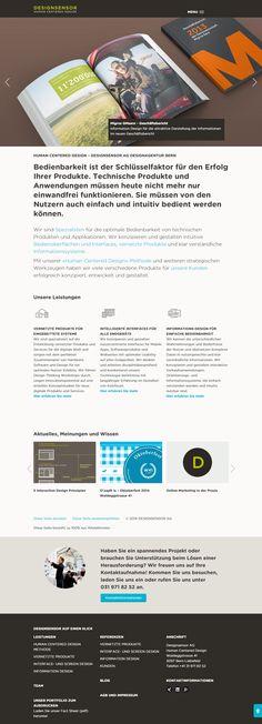 Alle paar Jahre ein Redesign. Dem voraus geht unser kompetenter Design-Partner Designsensor http://www.designsensor.ch/